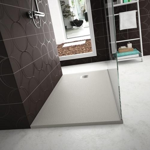 Receveur de douche Ultra Flat S - Noir Intense - 100x70 cm Idealstandard ultra flats ambiance
