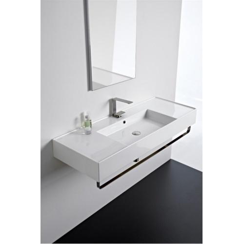 Vasque à poser ou à suspendre TEOREMA 2.0 80 cm - Vasque centrée 0 5125