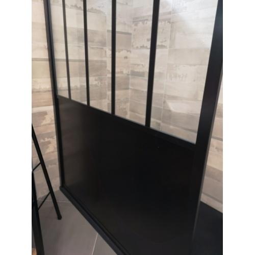 Paroi de douche LOFT Steel 100 cm* Img 20180621 105901