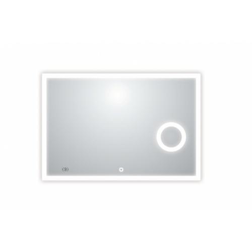 Meuble double vasque BIZ 120 cm Gris Brillant + Miroir Lite Lite 117