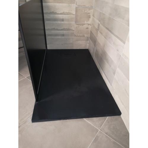 Receveur Extraplat NOVOSOLID Noir Mat 80x80 cm Img 20180621 105834