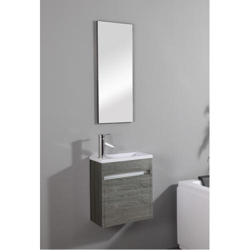 Meuble lave-mains Pluton Wood + Miroir