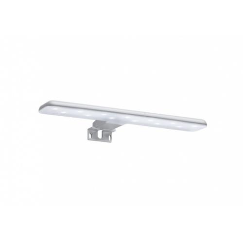 Meuble simple vasque Victoria-N Gris Anthracite brillant - 60 cm Applique led starlight