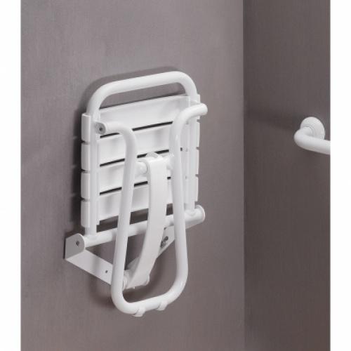 Siège de douche escamotable Blanc* Siege de douche blanc (3) copie