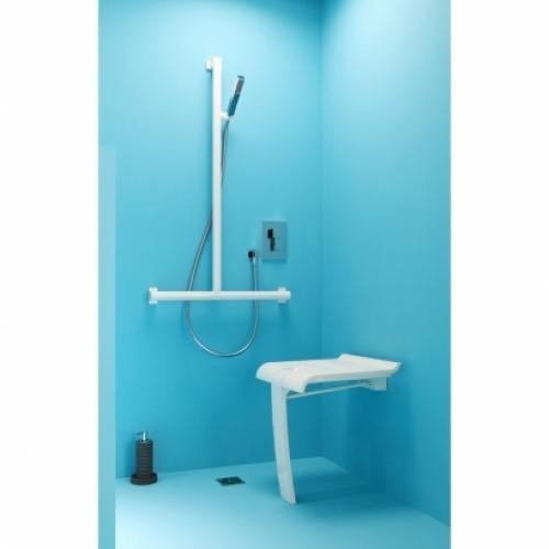 Siège de douche escamotable Arsis Blanc* Siege de douche arsis blanc (2)