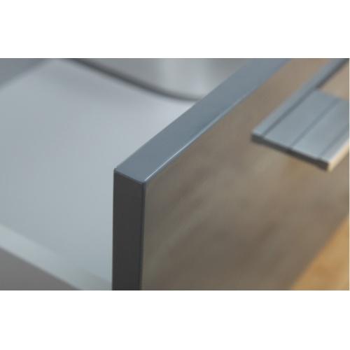 Meuble double vasque SATURN 140 cm Gris Brillant* Infinity neo gris macadam 140 (6)