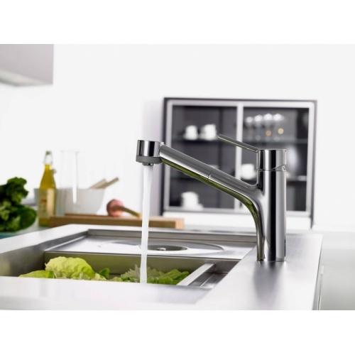 Mitigeur cuisine avec douchette extractible Talis S Chromé - 32841000* TALIS S 32841