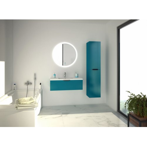 Meuble simple vasque LOFT 90 Bleu canard web_LOFT-Bleu-canard_rvb