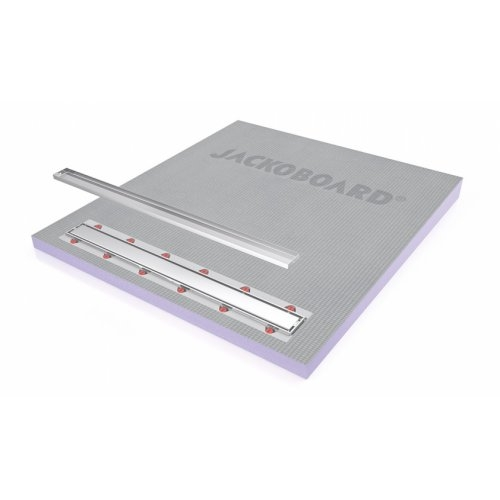 Receveur JACKOBOARD Aqua line Pro 100x90 SH écoulement linéaire Jackoboard_AquaLine_Pro_open_RGB