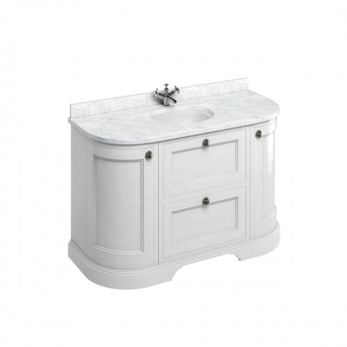 Meuble de salle de bain traditionnel simple vasque Olive FC4W_marble