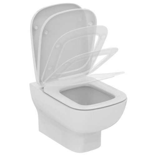 Pack WC GEBERIT UP320 + Cuvette KHEOPS Aquablade + Plaque Chromé Brillant Porcher_P098901
