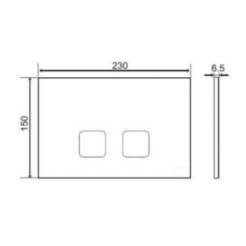 Pack WC Bâti-support Evo + Cuvette POP2 + Plaque Blanche plan tech plaque cde plain regiplast