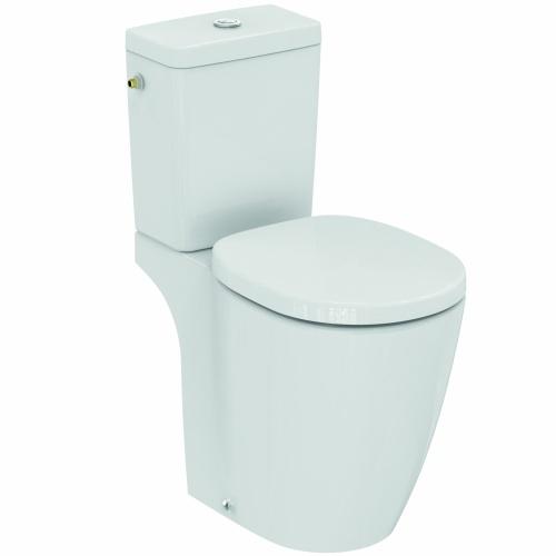 Pack WC à poser surélevé sortie horizontale Connect Freedom - Réservoir Cube