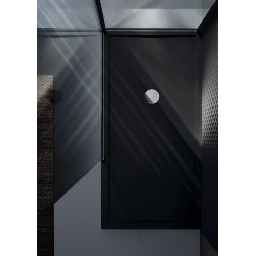 Receveur Olympic Plus Noir - Hauteur 4.5 cm - 110x70 cm Olympic Plus Noir Vue dessus