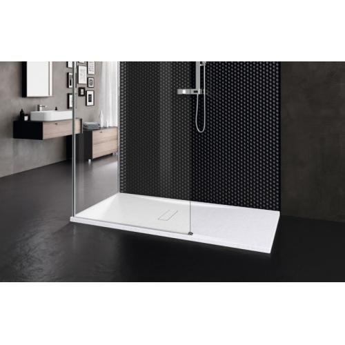 Receveur rectangulaire CUSTOM TOUCH Blanc Mat - Hauteur 3.5 cm - 100x80 cm CUSTOM Touch Blanc à poser
