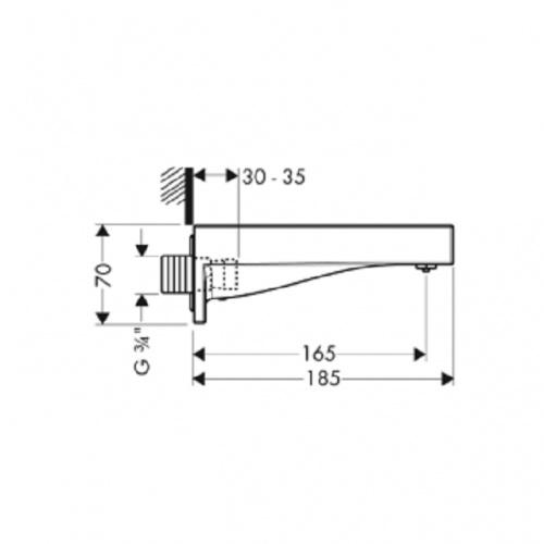 Bec Deverseur Starck X 10426 plan 10426