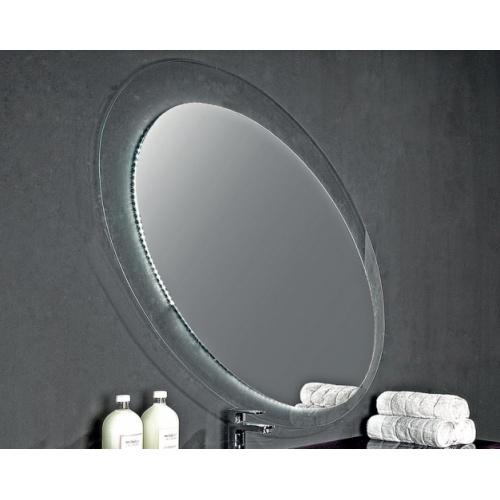 Meuble de salle de bain SLALOM - Composition 3 Miroir Ovale 3950
