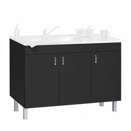 meuble sous evier 120 cm weng d co clip n ova. Black Bedroom Furniture Sets. Home Design Ideas