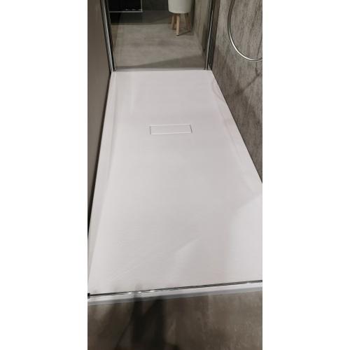 Receveur rectangulaire CUSTOM TOUCH Blanc Mat - Hauteur 3.5 cm - 100x80 cm CUSTOM TOUCH Blanc