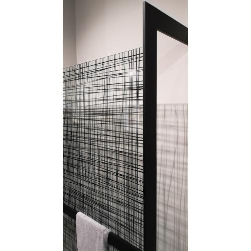 KIT-FRAME - Fixation au mur à Droite + Porte-serviette - Noir Mat IMG_20190313_110636