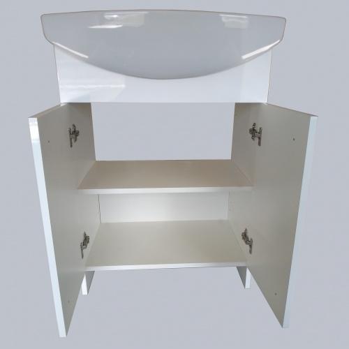 Meuble de salle de bain avec vasque SATI 60 cm SATI-60-ouvert