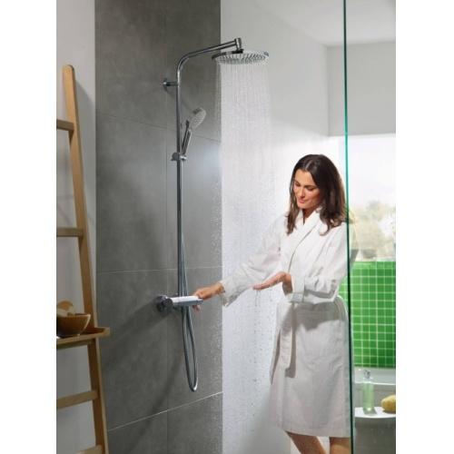 Colonne de douche Crometta S Showerpipe 240 1 jet - 27267000* Crometta S Showerpipe 240 1jet