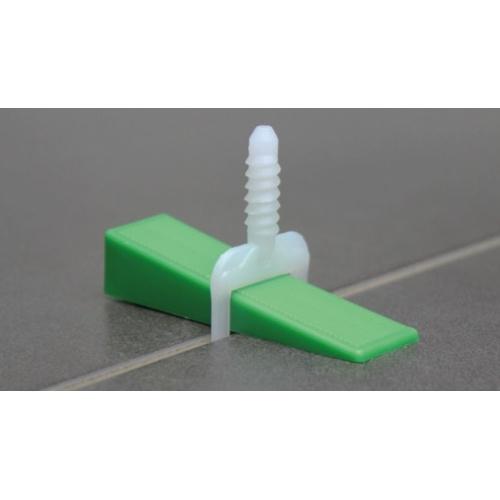 Carrelage clavettes 0-5 mm PVC clavettes plastique clavettes pour carrelage 250 pcs