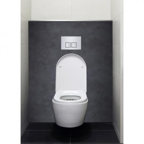 Habillage décoratif Bâti WC DECOFAST Cosy Béton Brut