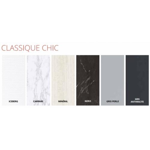 Habillage décoratif Bâti WC DECOFAST Classique Chic - Carrare Décor Classique Chic