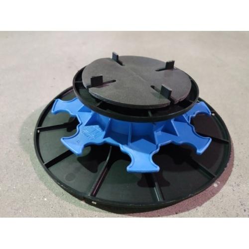 Plot réglable pour dalles extérieures - Hauteur 40 à 65 mm