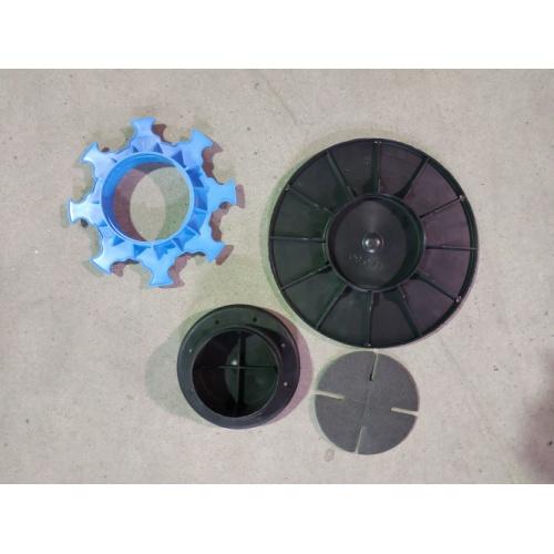 Plot réglable pour dalles extérieures - Hauteur 40 à 65 mm Plot 40-65mm-3