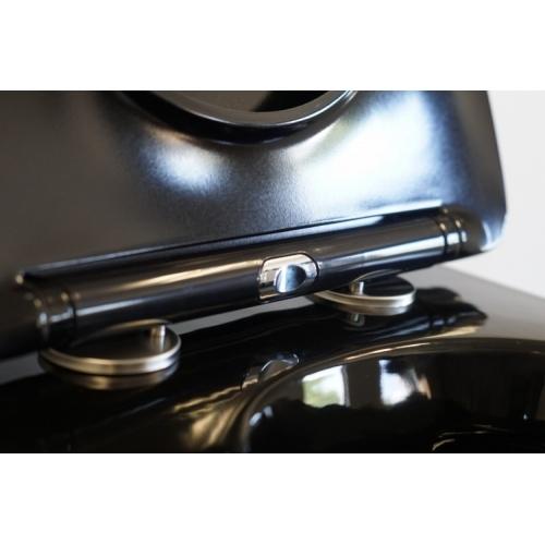 Pack Geberit UP320 + Cuvette sans bride KELOS Noir Brillant + Plaque Sigma Noir DSC05646