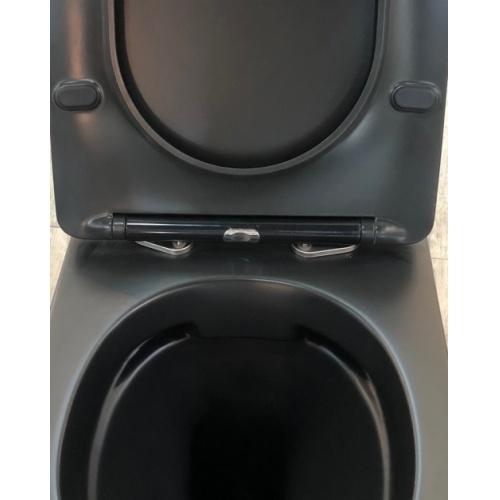 Pack Geberit UP320 + Cuvette sans bride KELOS Noir Mat + Plaque Sigma Noir kelos