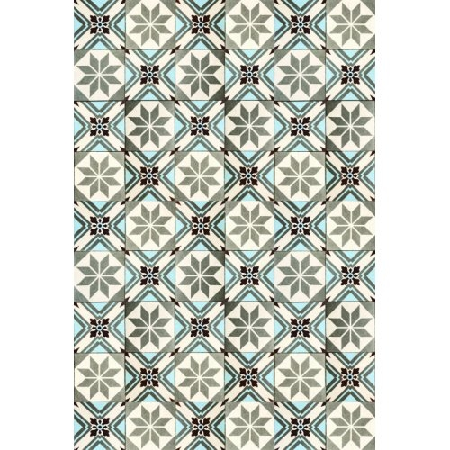 Crédence DECOFAST Polygon Bleu - 1200x400 mm
