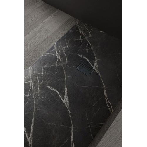Receveur de douche MIRAGE Marbre Noir - 70x100 cm Receveur MIRAGE Marbre Noir