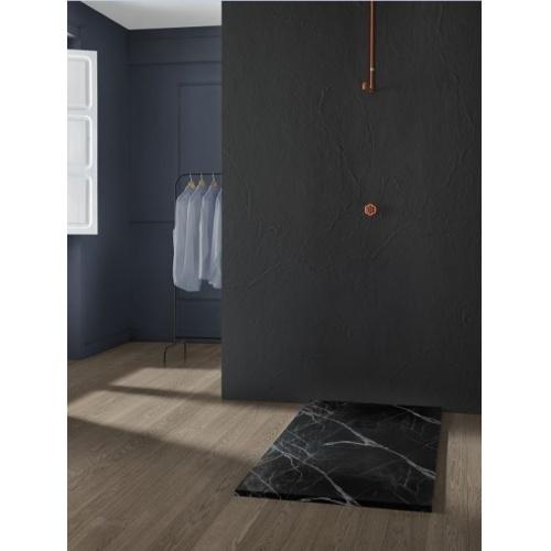 Receveur de douche MIRAGE Marbre Noir - 70x100 cm Receveur MIRAGE Marbre Noir Ambiance