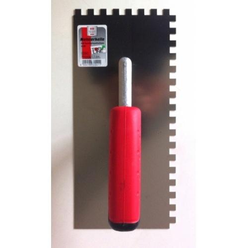 Peigne à colle TOPLINE en métal Dentée 8 x 8 mm Peigne 630041 (2)