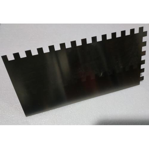 Peigne à colle TOPLINE en métal Dentée 10 x 10 mm 630042 (2)