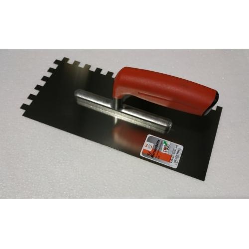 Peigne à colle TOPLINE en métal Dentée 10 x 10 mm