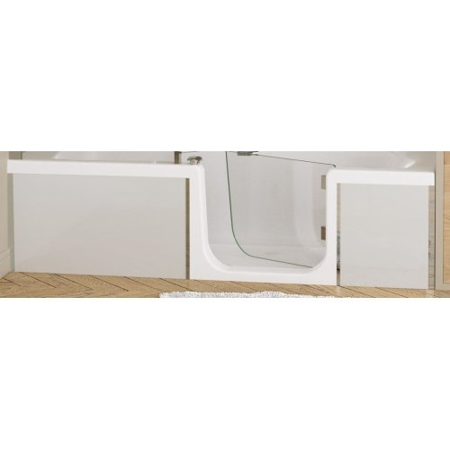 Tablier de façade Full Verre Blanc - 170 cm