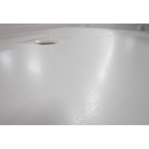 Receveur rectangle 70x120 en Biocryl Kinesurf Blanc LA Revetement antiderapant