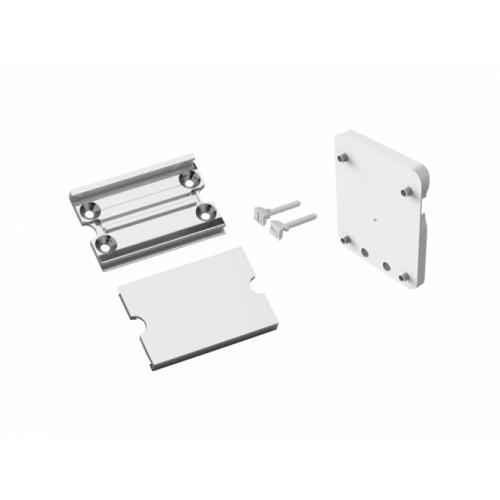 Kit Platine pour accoudoir et barre ARSIS - Blanc