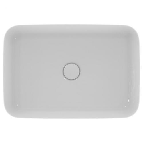 Vasque rectangulaire à poser IPALYSS Blanc Brillant - 55x38 cm IdealStandard_E1392-E2076_Cuto_92f52a5e4fb0bada9760af13a542c040