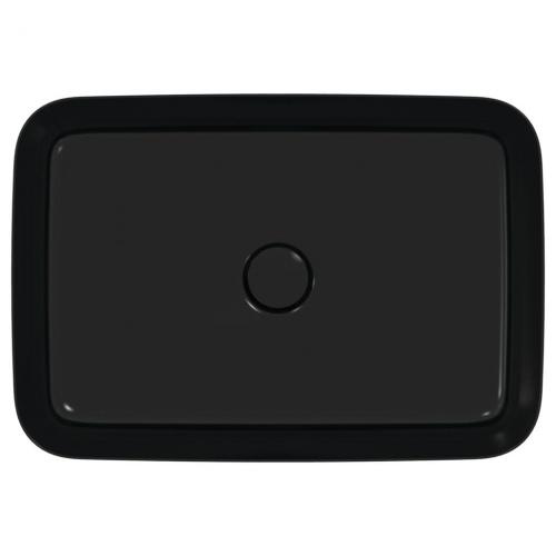 Vasque rectangulaire à poser IPALYSS Noir Mat - 55x38 cm IdealStandard_E1392-E2076_Cuto_854e7428f86a1ba0387fe6842c2e2e67