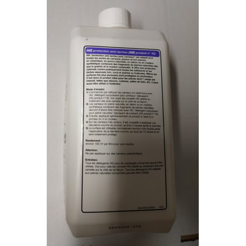 Imperméabilisant anti-taches 1L HG HG 15