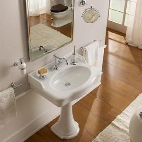 Vasque sur Colonne CASTELLANA Blanc - 90 cm
