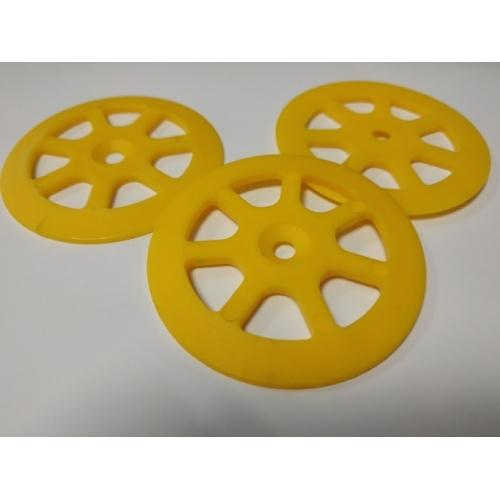 Lot de 100 rondelles de fixation plastique Rondelles