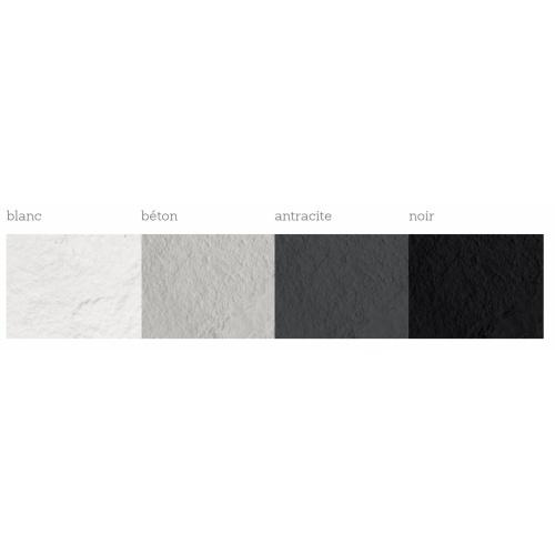 Receveur de douche souple SolidSoft LINEAR DRAIN Blanc 90x120 cm Coloris Receveur Linear Drain