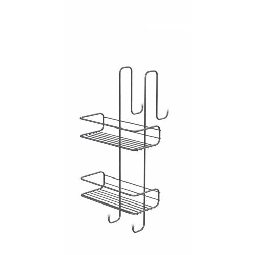 Porte-objets filaire TITO pour paroi de douche - Chromé