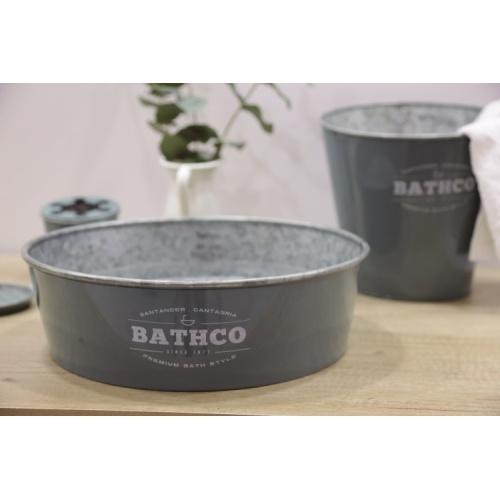 Ensemble de salle de bains KIOTO en Zinc Gris 8331_Kioto_Gris